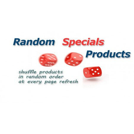 Random Specials Products for Opencart download