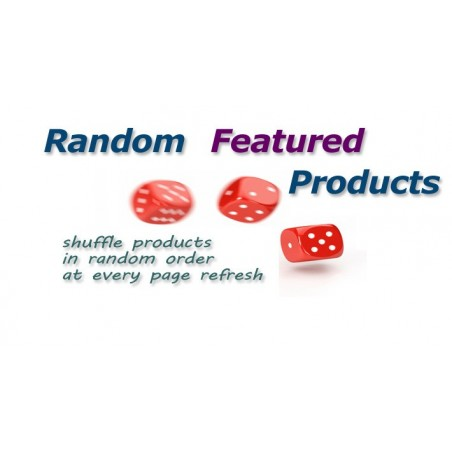 Random Featured Products module for Opencart download