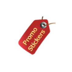 Promotional Stickers free  module for PrestaShop logo