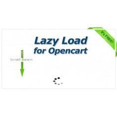 Lazy Load module for opencart