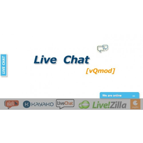 Live Chat Widget for Opencart download