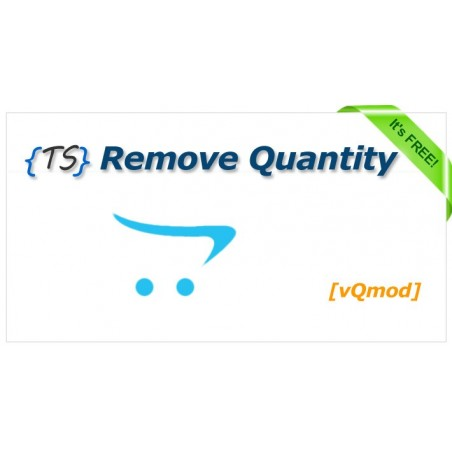Remove Quantity Opencart from product page