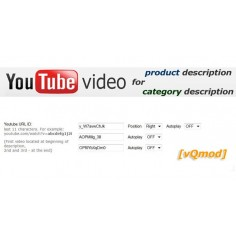 Youtube Video module for opencart download