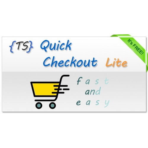 Quick Checkout Lite for Opencart download free