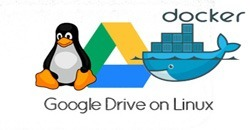 How to sync Google Drive on Linux with Docker